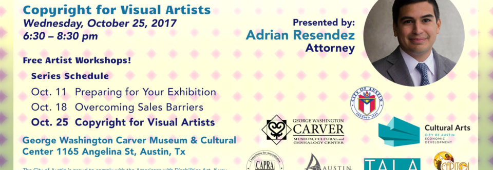 Copyright for Visual Artists part of the Art and Business Series