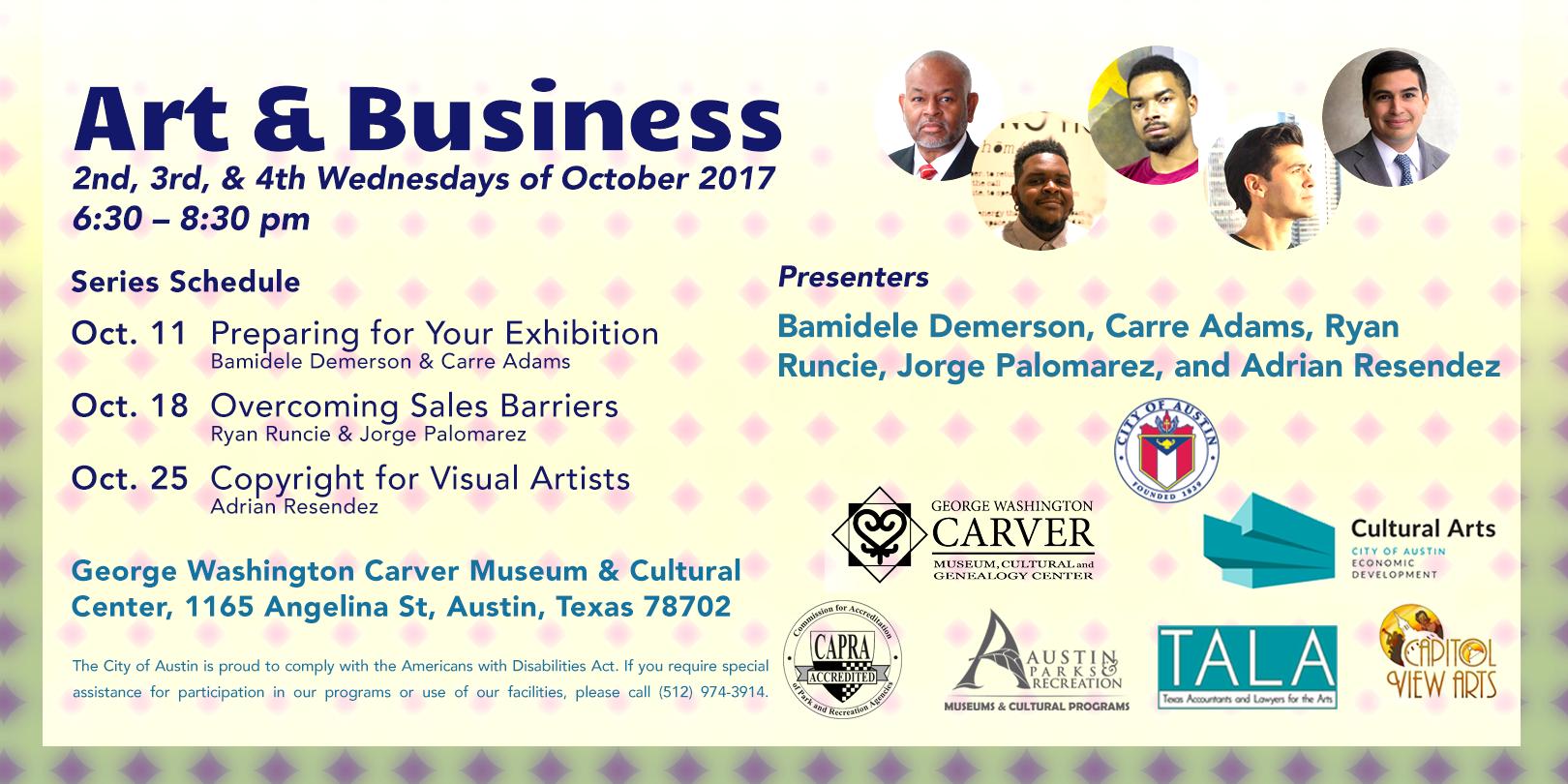 EAST ART & Business Series Flyer