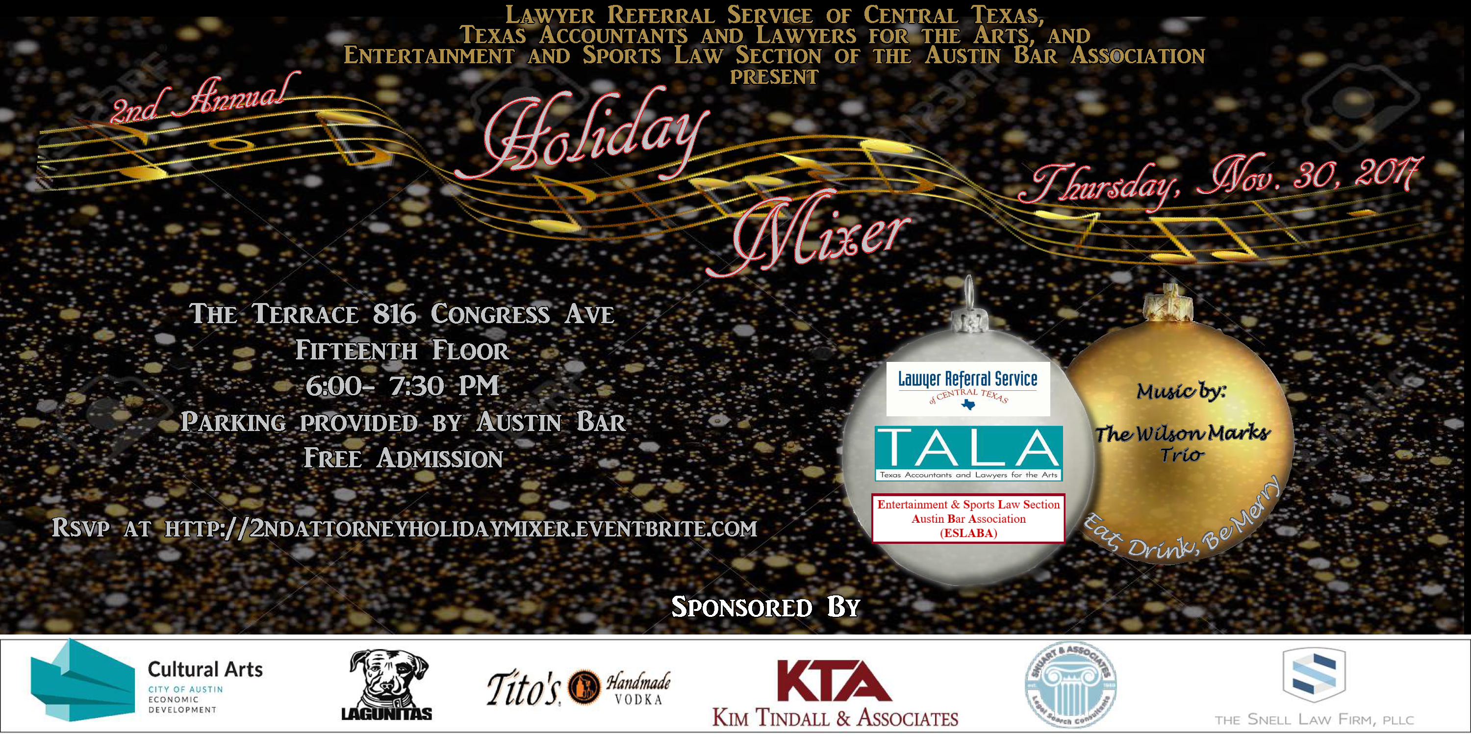 Holiday Mixer KTA added 2017