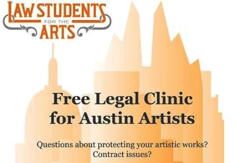 Free Legal Clinic in Austin with UT Law Students for the Arts