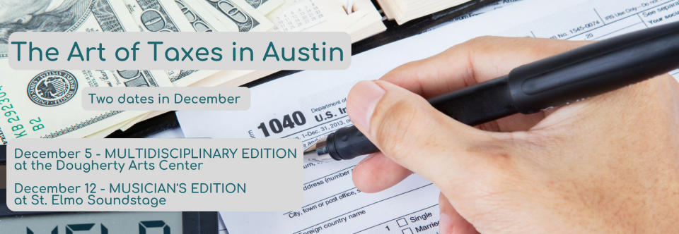 Austin Seminars – The Art of Taxes